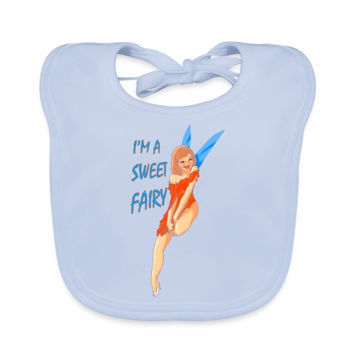 Sweet Fairy - Bavaglino ecologico per neonato