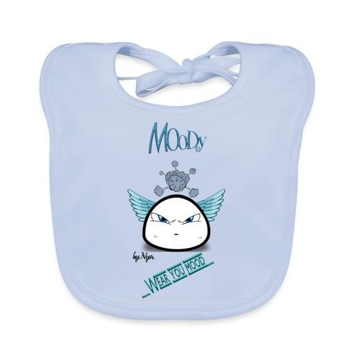 MOODY ANGEL - Bavaglino ecologico per neonato