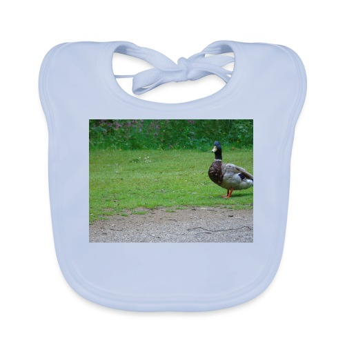 A wild duck - Baby Organic Bib