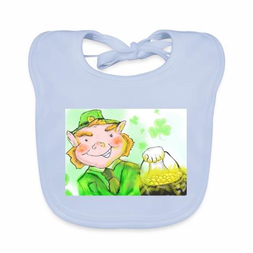 lenny the leprechaun - Baby Organic Bib