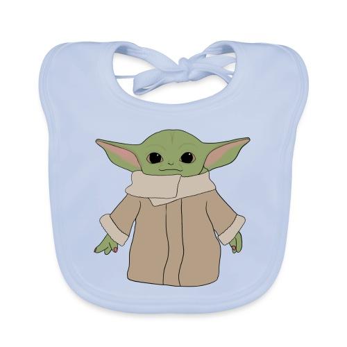 Baby Y - Babero de algodón orgánico para bebés