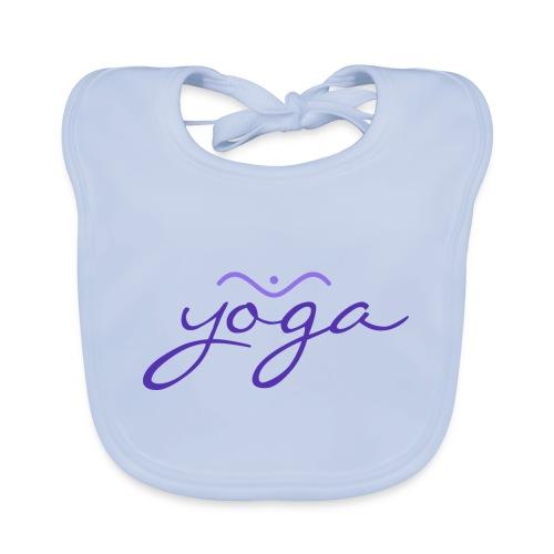 Yoga Balancing Typography And Emblem 3 - Baby Bio-Lätzchen