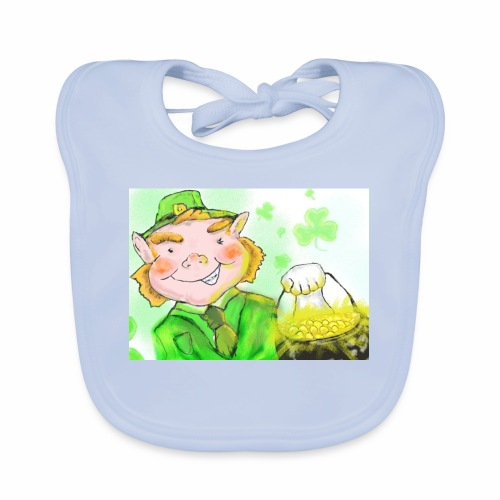 lenny the leprechaun - Organic Baby Bibs
