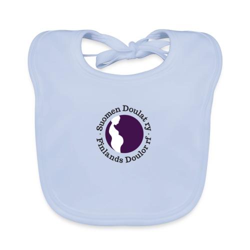 Suomen Doulat ry logo - Vauvan luomuruokalappu