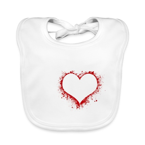 Herz/Heart - Baby Bio-Lätzchen
