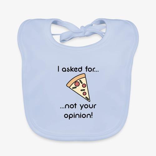 Pizza Opinion - Baby Bio-Lätzchen