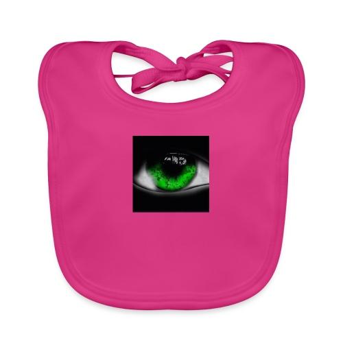 Green eye - Baby Organic Bib