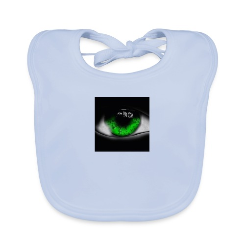 Green eye - Baby Organic Bib
