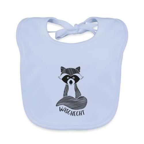 Waschbär waschecht - Baby Bio-Lätzchen