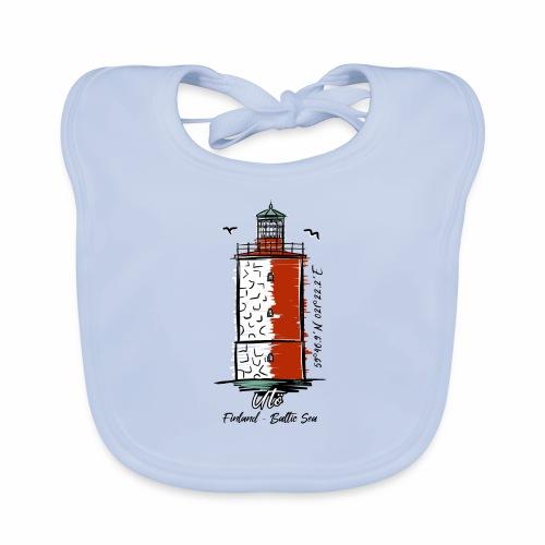 Finnish Lighthouse UTÖ Textiles, and Gifts - Vauvan luomuruokalappu