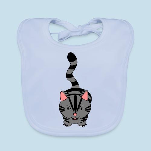 Miau Katze - Baby Bio-Lätzchen