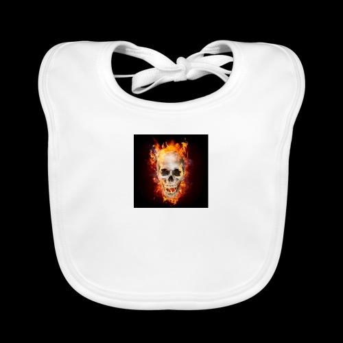 skullflame - Organic Baby Bibs