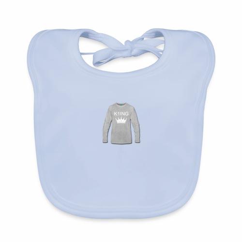 K1ING - t-shirt mannen - Bio-slabbetje voor baby's