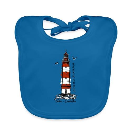 Old Finnish Lighthouse HEINÄLUOTO Textiles, Gifts - Vauvan luomuruokalappu