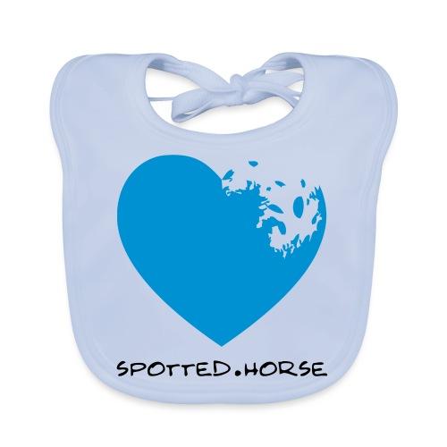 Cuore Appaloosa Spotted.Horse - Bavaglino ecologico per neonato