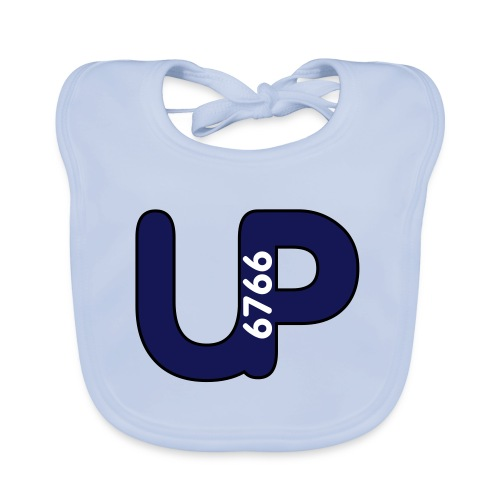 up6766 logo grau objektumwandlung - Baby Bio-Lätzchen
