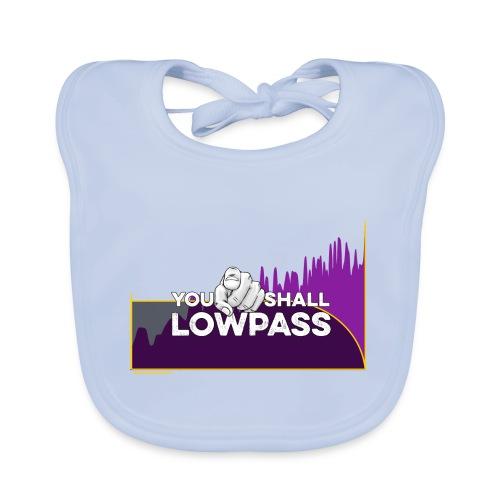 You shall Low Pass (Fuschia) - Bavoir bio Bébé