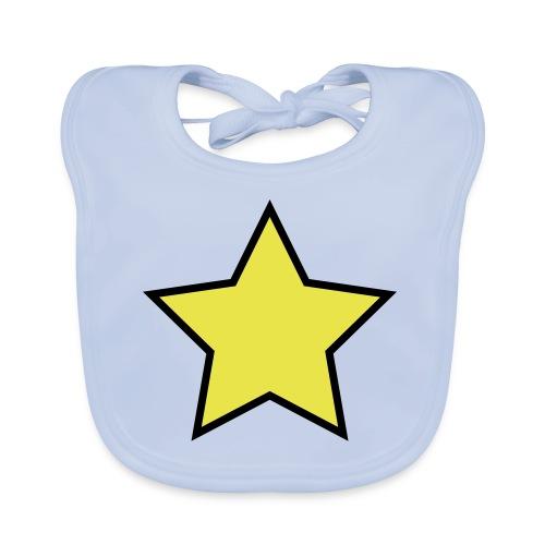 Star - Stjerne - Baby Organic Bib