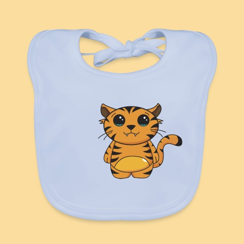 tiger shaped - Baby Organic Bib