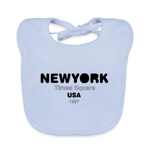 NewYork USA - Bavoir bio Bébé