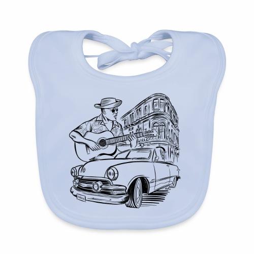 Cuba Havana Dodge Textiles and Gifts for You - Vauvan luomuruokalappu