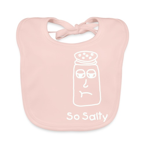 So Salty (White Design) - Bio-slabbetje voor baby's