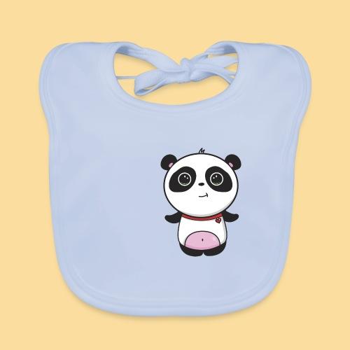 Panda in shape - Baby Organic Bib