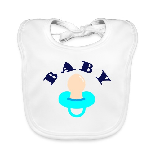 diseño de babero BABY - Babero ecológico bebé