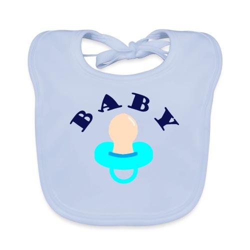 diseño de babero BABY - Babero de algodón orgánico para bebés