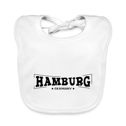 Hamburg-Schriftzug - Baby Bio-Lätzchen