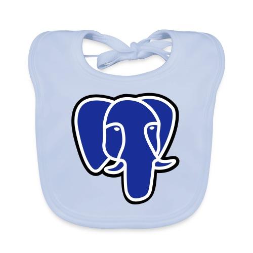 postgresql elephant border - Organic Baby Bibs