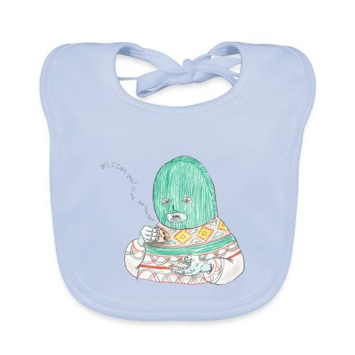 I don't care - Organic Baby Bibs