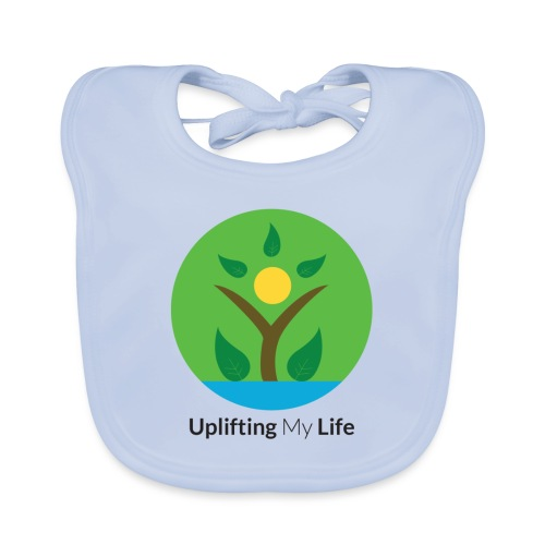 Uplifting My Life Official Merchandise - Organic Baby Bibs