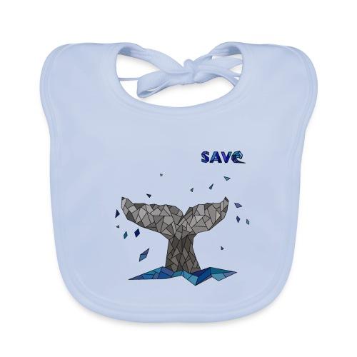 Whale - Bio-slabbetje voor baby's