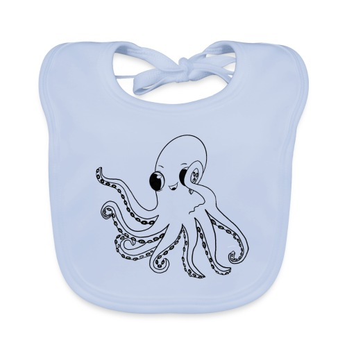 Little octopus - Organic Baby Bibs