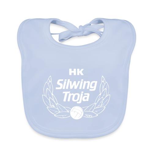 HK Silwing Troja Logo - Ekologisk babyhaklapp