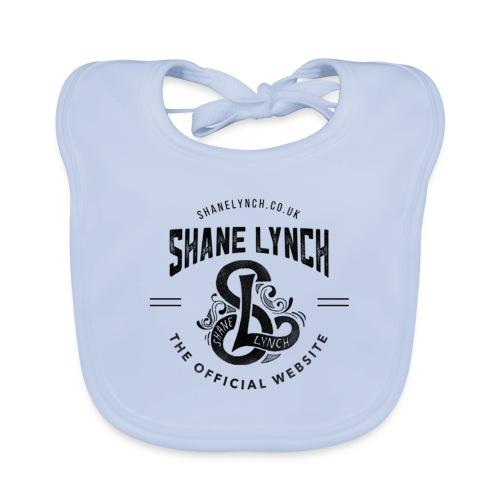 Black - Shane Lynch Logo - Organic Baby Bibs