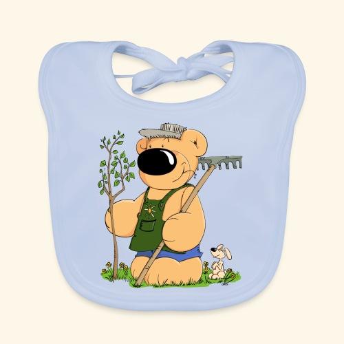 Gärtner Bär - Baby Bio-Lätzchen