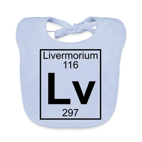 Livermorium (Lv) (element 116) - Baby Organic Bib