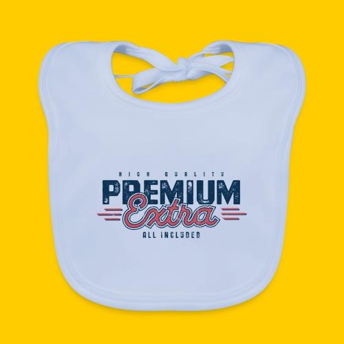 Premium - Ekologisk babyhaklapp