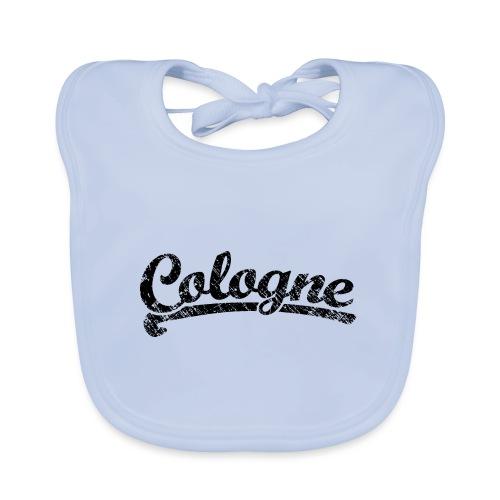 Cologne Classic Vintage Schwarz - Köln Design - Baby Bio-Lätzchen