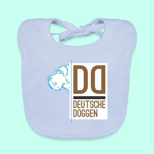 Deutsche Doggen DD - Baby Bio-Lätzchen