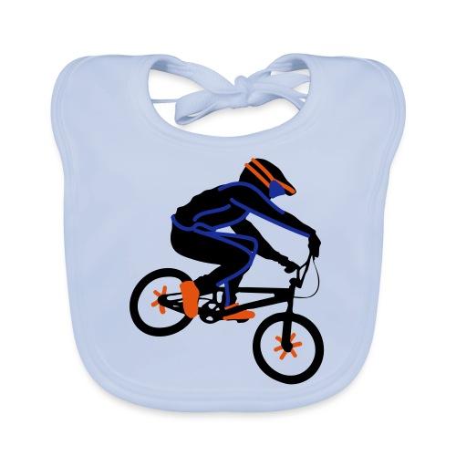 BMX Rider Dark - Bio-slabbetje voor baby's