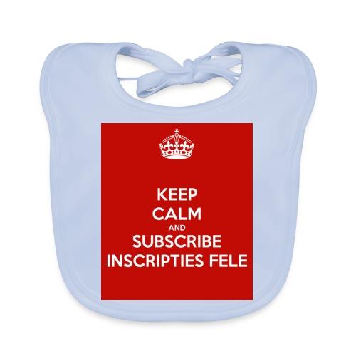 inscripties fele subtshirt - Bio-slabbetje voor baby's