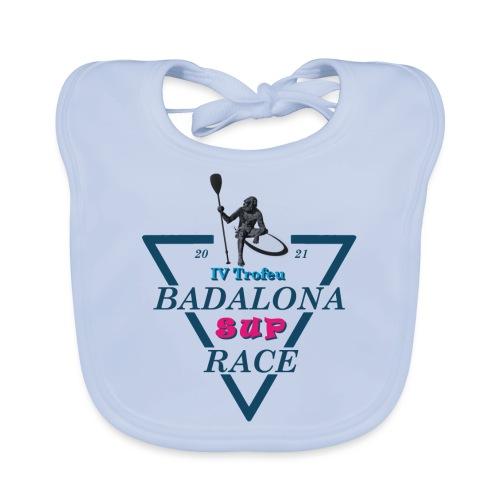 Badalona Sup Race 2021 - Babero de algodón orgánico para bebés