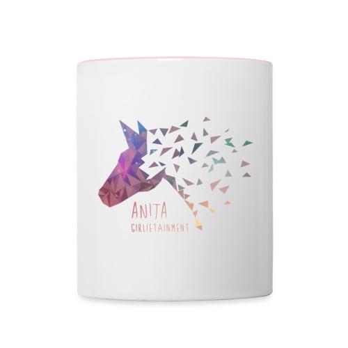 AnitaGirlietainmentGalaxy - Tasse zweifarbig