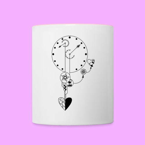 L'amour - Mug contrasté