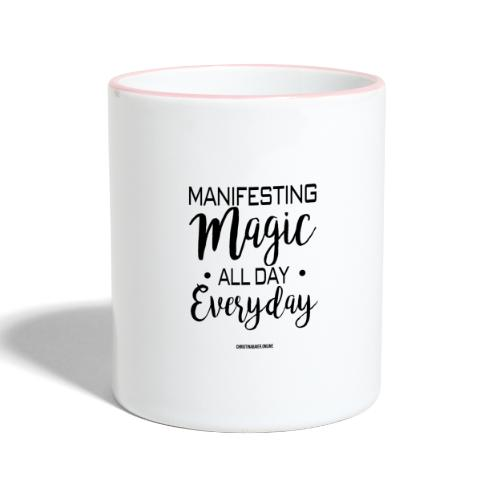 Manifesting Magic - Tasse zweifarbig