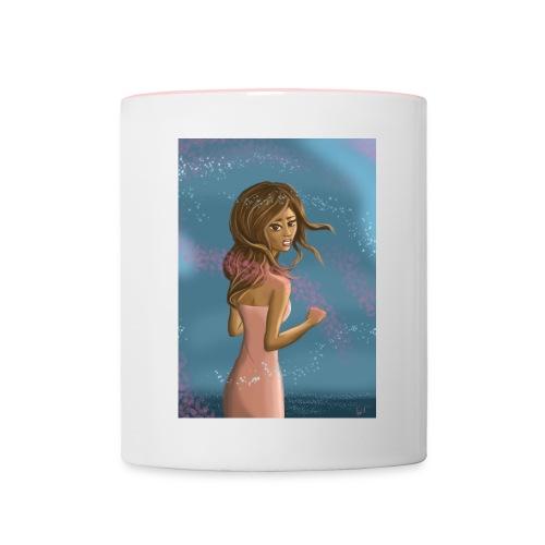 Girl in the wind - Mug contrasté