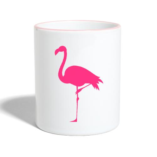 Freaking Flamingo - Tvåfärgad mugg